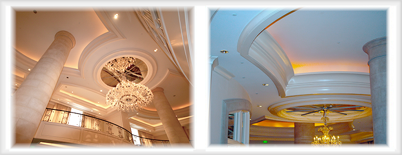 Gypsum Ceiling Domes, Moulding and More