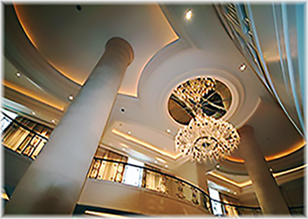 Glassfiber Reinforced Gypsum Ceiling Domes